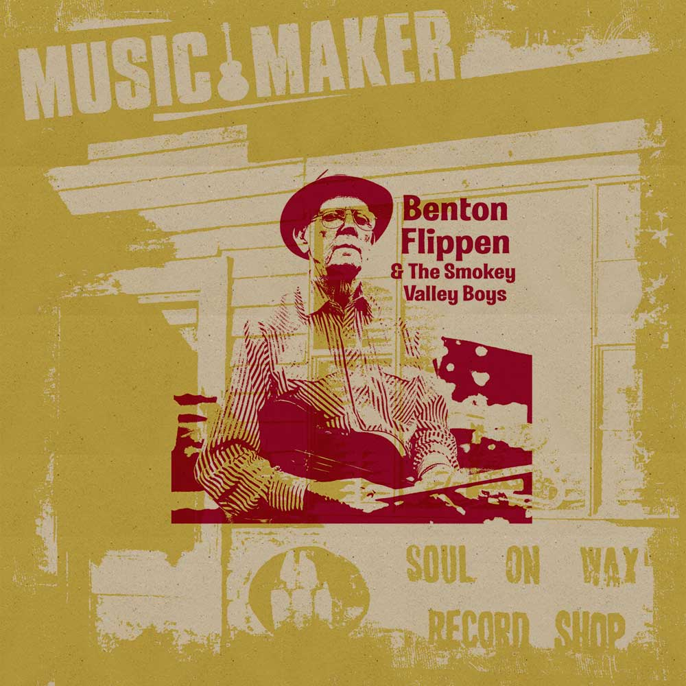 Benton Flippen CD for Music Maker
