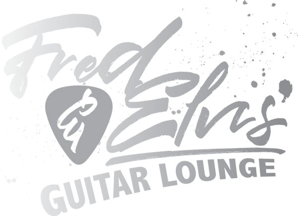 Fred n' Elvis Guitar Lounge Logo